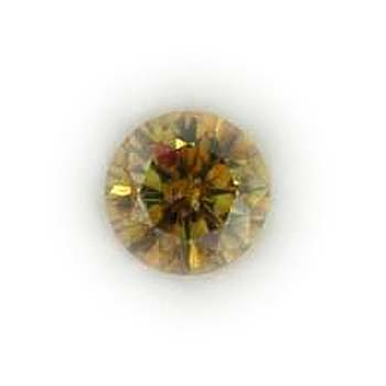 View 1.17 ct. Round Fancy Deep Orangy Brown-Yellow
