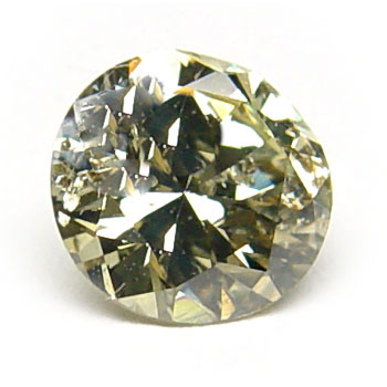 View 1.14 ct. Round Fancy G. Greenish Yellow