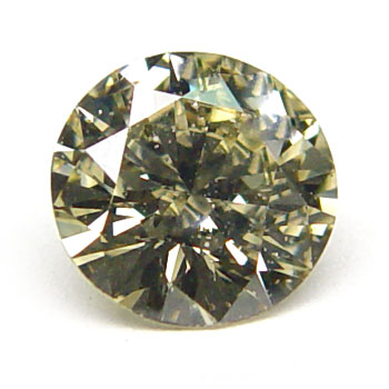 View 1.09 ct. Round Fancy G. Greenish Yellow