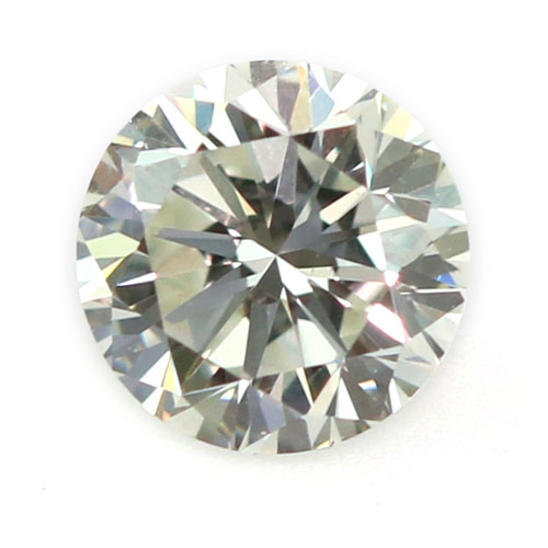 View 0.6 ct. Round Light Yellow-Green