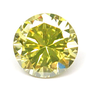View 1.15 ct. Round Fancy Intense g. Yellow