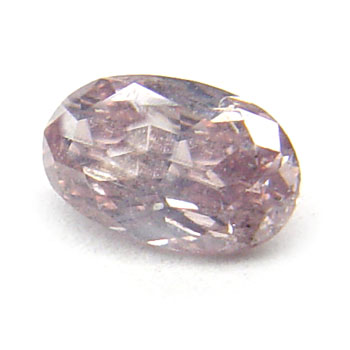 View 0.27 ct. Oval Fancy Brownish Pink