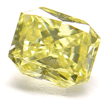 View 0.5 ct. Radiant Fancy Intense Yellow