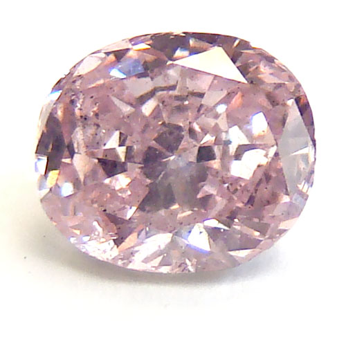 View 1.01 ct. Oval Fancy Purplish Pink