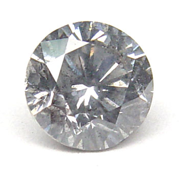 View 1.01 ct. Round Fancy Gray