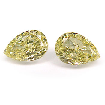 View 1.73 ct. Pear Shape Fancy Yellow