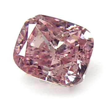 View 0.44 ct. Cushion Fancy Intense P. Pink