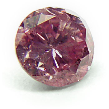 View 0.51 ct. Round Fancy Intense p. Pink