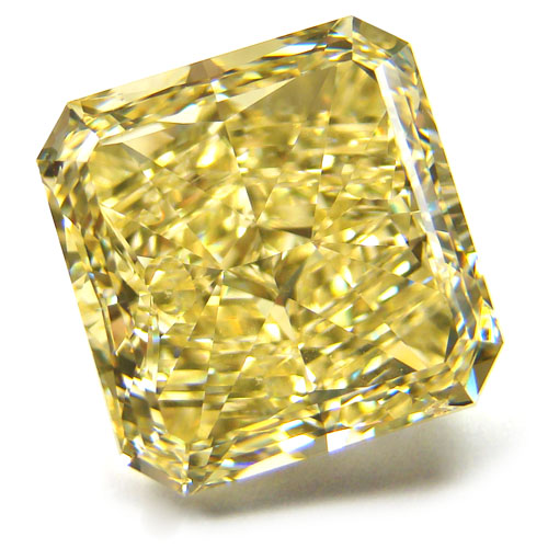 View 11.38 ct. Radiant Fancy Yellow