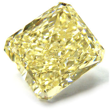 View 2.1 ct. Radiant Fancy Yellow