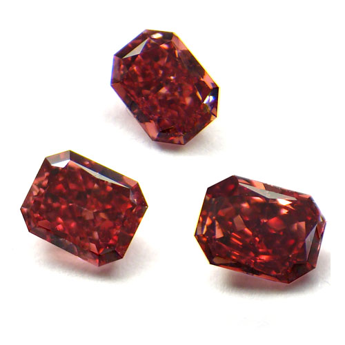 View 1.1 ct. Radiant FANCY RED! - TRILOGY!!