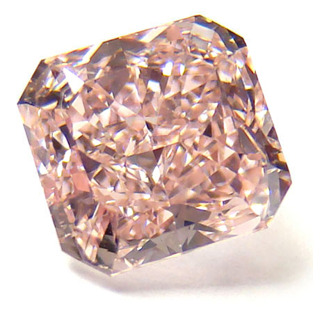 View 1.1 ct. Radiant Fancy Brownish Pink