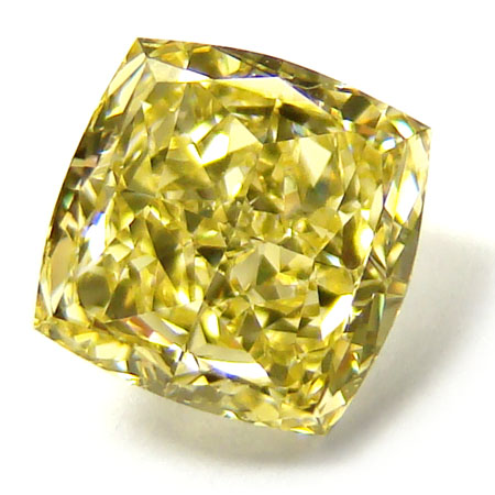 View 1.09 ct. Radiant Fancy Intense Yellow