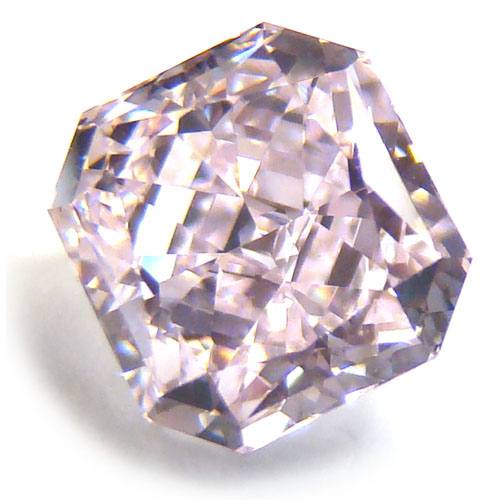 View 1.52 ct. Radiant Fancy Light Purplish Pink (Flawless)