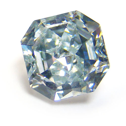 View 2.19 ct. Radiant Fancy Bluish Green