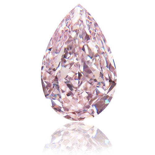 View 1.12 ct. Pear Shape Fancy Pink (Flawless)