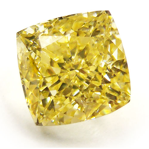 View 1.51 ct. Radiant Fancy Intense Yellow