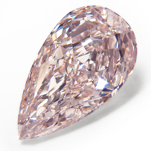 View 2.01 ct. Pear Shape Fancy Light b. Pink