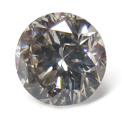View 1.04 ct. Round Fancy Gray