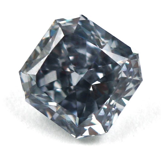 View 1.05 ct. Radiant Fancy Blue Gray