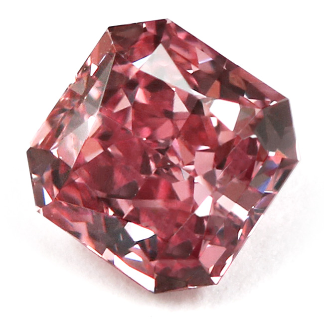 View 1.03 ct. Radiant Fancy VIVID p. Pink (ARGYLE)