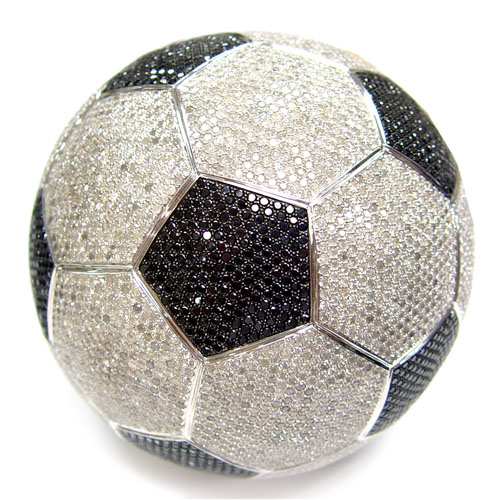 View 507.5 ct. Round Black Soccer