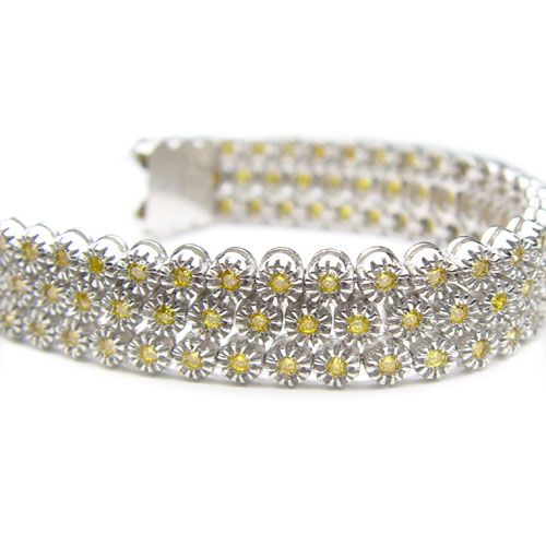 View Yellow Diamond Melle Bracelet